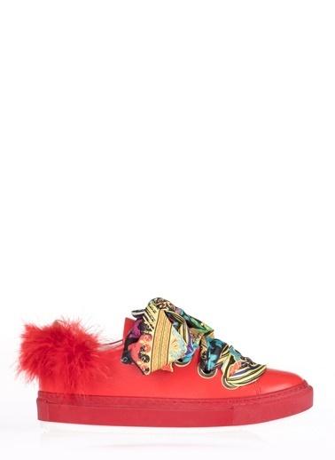 Pier Lucci Spor Ayakkabı Kırmızı